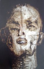 kopf-200-x-130-cm-oel-auf-papier